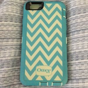 """OtterBox iPhone 6/6s DEFENDER case """"Happy Waves"""""""